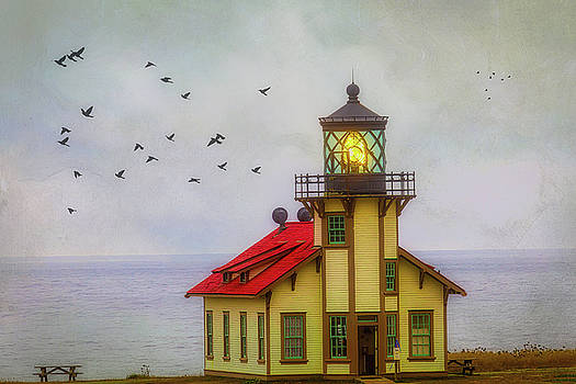Moody Point Cabrillo Light Station by Garry Gay