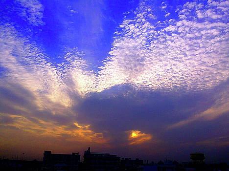 Moody sky by Atullya N Srivastava