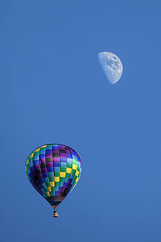 Randall Nyhof - Moon and Hot Air Balloon
