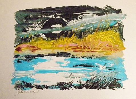 Moon and Marsh by John Williams