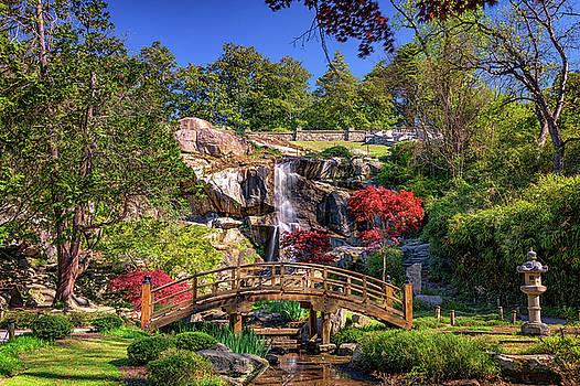 Moon Bridge and Maymont Falls by Rick Berk