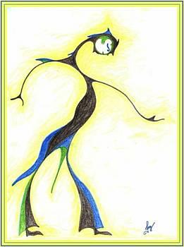 Moon Dancer by Julia Woodman