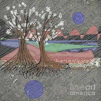 Moon Dusk by Ann Calvo