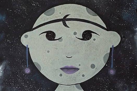 Moon Goddess by Stefanie Beauregard
