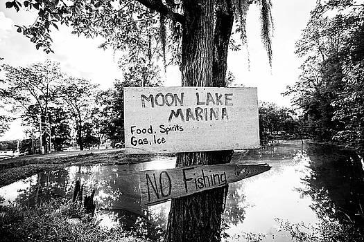 Scott Pellegrin - Moon Lake Marina Sign