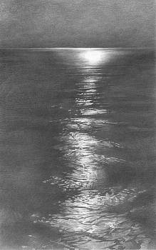 Moon Light in the Sea by Denis Chernov