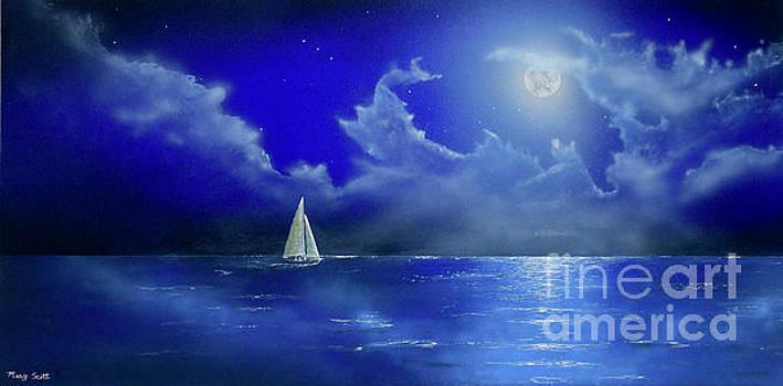 Moon Light Sail by Mary Scott
