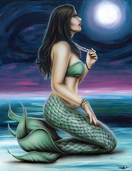 Moon Mermaid by Steve Baier