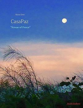 Moon over CasaPaz by Jack Eadon