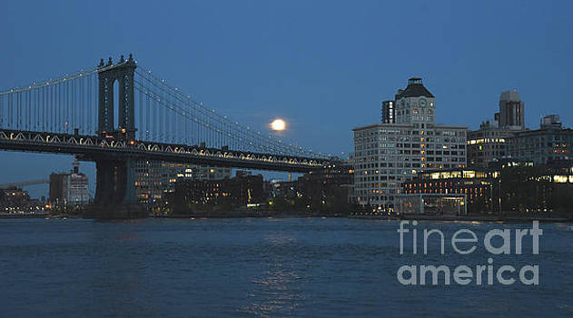 Moon Over Dumbo by Tom Wurl