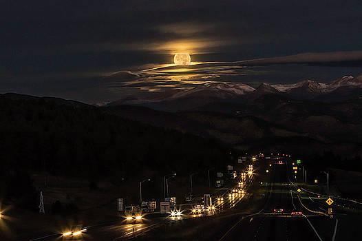 Moon Over Genessee by Kristal Kraft