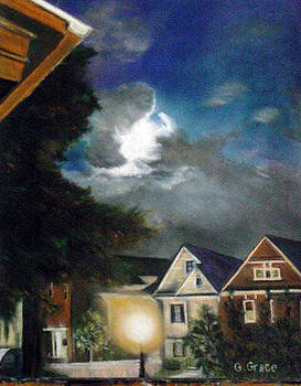 Moon Over Putnam by George Grace