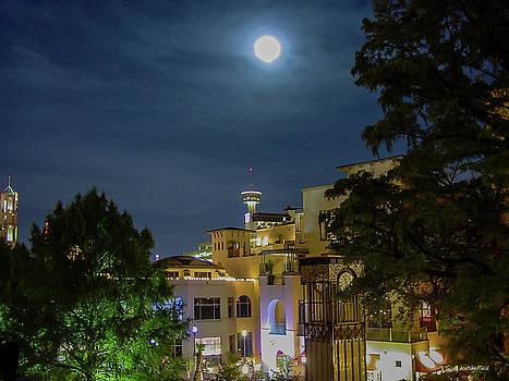 Moon Over San Antonio by Allen Sheffield