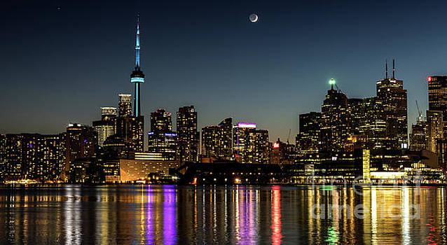 Moon Over Toronto by Phil Spitze