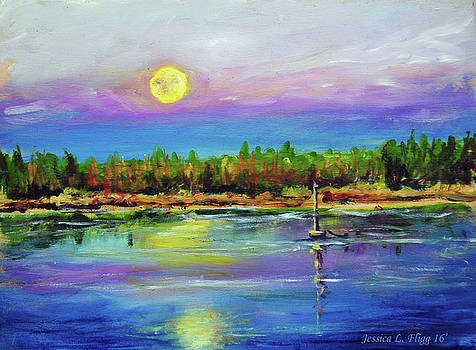 Moon Rise by Jessica Fligg