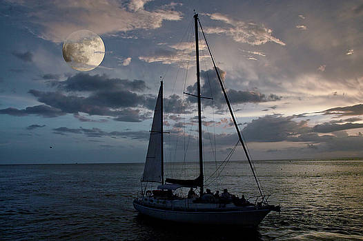Moon Sail by Digartz - Thom Williams
