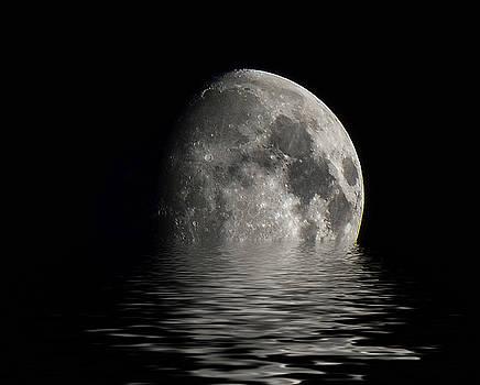 Moon Set... by Jeffrey Platt