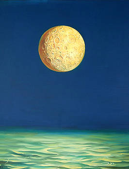 Moon by Valentin Rusin