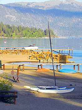 MoonDuneBeach LakeTahoe by Ceci Bahr