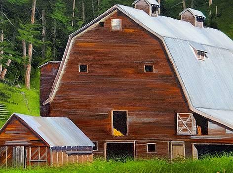 Mooney's Barn by Paul K Hill