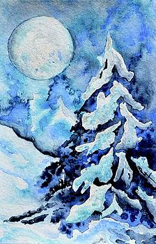 Moonglow Holiday Tree by Beverley Harper Tinsley