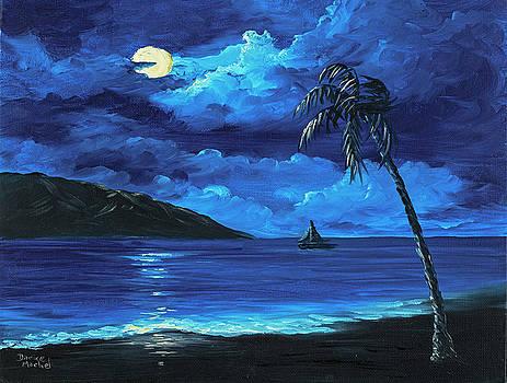Moonligh Sail by Darice Machel McGuire