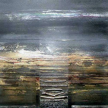 Moonlight and  Driftwood Series no1 by Mike   Bell