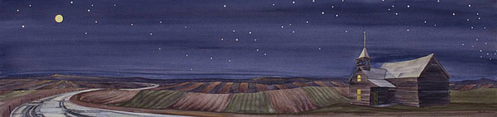 Moonlight and School by Scott Kirby