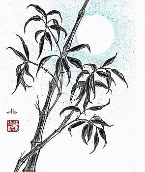 Moonlight bamboo  by Irina Davis