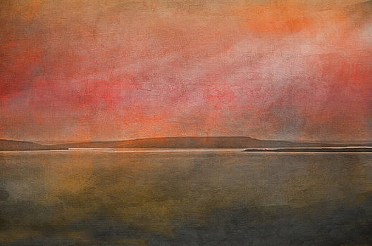 Moonlight Bay at Sunset by Andrea Kollo