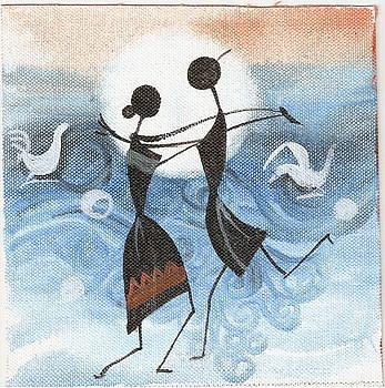 Moonlight Dance by Chintaman Rudra