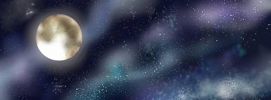 Moonlight by Hannah Starrett Wright