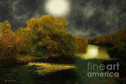 Moonlight in the Berkshires by RC deWinter