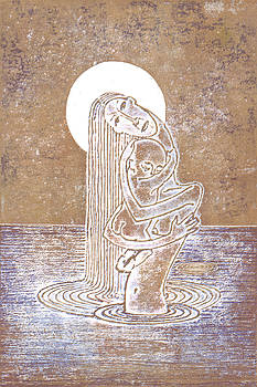 Moonlight Madonna by Agnese Kurzemniece