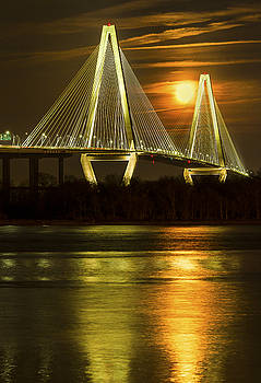 Moonlight on the Ravenel by Jim Miller