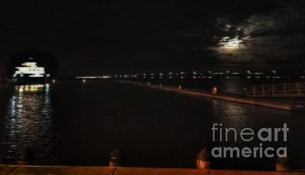 Moonlight over the Choptank by Rrrose Pix