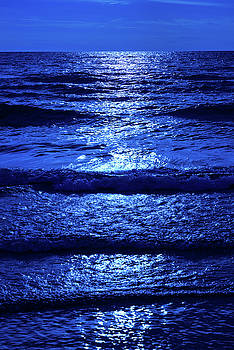 Moonlight Over Water by Steve Gadomski