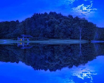 Moonlight Reflections by Jeff Burcher