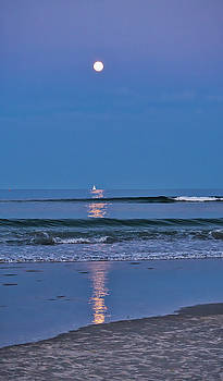 Steven Ralser - Moonlight Sail 3 - Ogunquit Beach - Maine