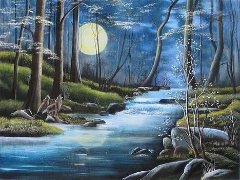 Moonlight Serenade by RJ McNall
