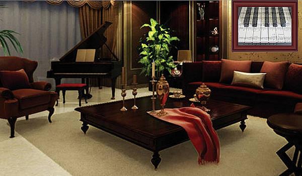 Moonlight Sonata 3rd Movement - Art Ideas For Interior Design  by Hanza Turgul