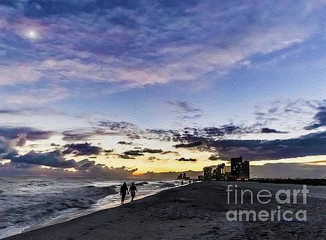 Ricardos Creations - Moonlit Beach Sunset Seascape 0272d