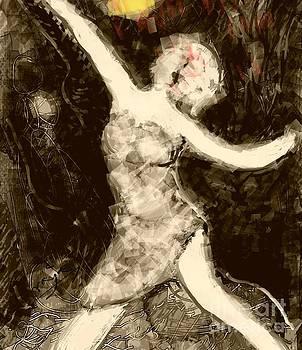 Moonlit dancer by Subrata Bose
