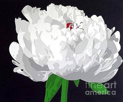 Moonlit Peony by Susan Porter