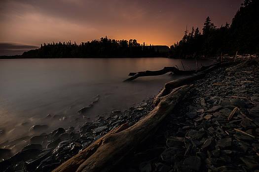 Moonlit Perry Bay sunset glow by Jakub Sisak