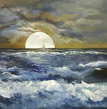 Moonlit Sail by Sarah Nell-Griffin