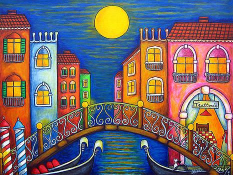 Moonlit Venice by Lisa  Lorenz