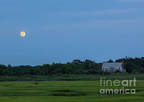 Moonrise at Grays Beach by Michelle Constantine