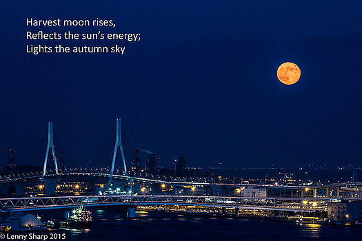 Leonard Sharp - Moonrise - Haiku