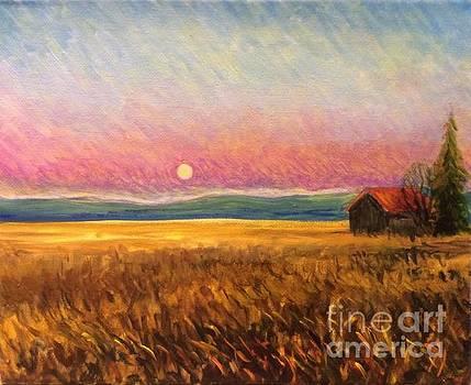 Moonrise by Hilary England